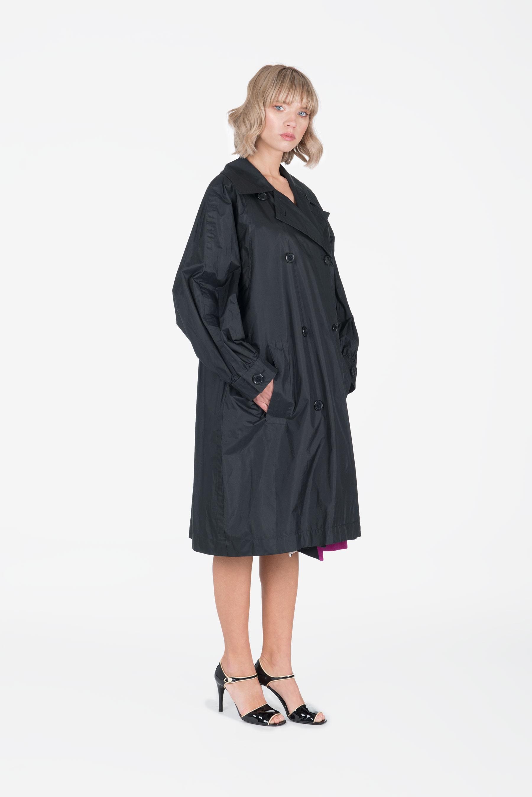807ebe10b35 Yves Saint Laurent - elastane trench coat TRENCHS - Shop Millesimé ...